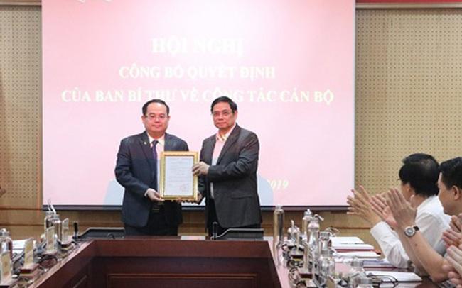 Ban Bí thư bổ nhiệm Phó Trưởng Ban Tổ chức Trung ương