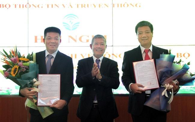 Bộ TT&TT bổ nhiệm 02 Phó Cục trưởng Cục Tin học hóa