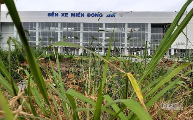 Cỏ dại um tùm bên trong bến xe hiện đại nhất Đông Nam Á của Sài Gòn  Cỏ dại um tùm bên trong bến xe hiện đại nhất Đông Nam Á của Sài Gòn photo1573721838690 1573721838854 crop 1573721849616871931951