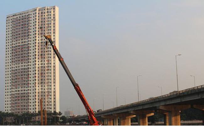 Cận cảnh xây hai cầu thấp qua hồ Linh Đàm giải toả ùn tắc cửa ngõ phía nam thành phố