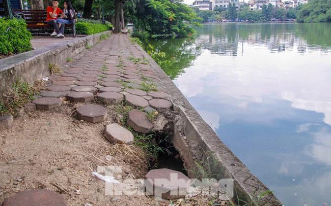 Hà Nội sẽ kè hồ Hoàn Kiếm bằng những khối bê tông đúc sẵn