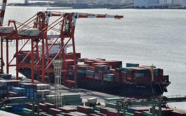 Xuất khẩu Nhật Bản sụt mạnh nhất 3 năm vì thương chiến Mỹ-Trung