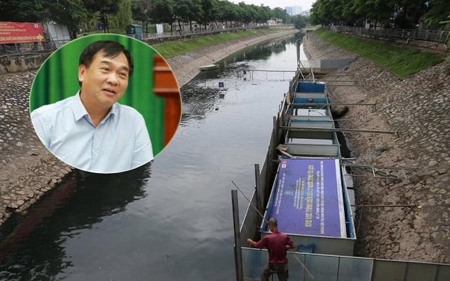 Nói kết quả thí điểm làm sạch sông Tô Lịch thất bại, GĐ Sở Xây dựng Hà Nội bị phản đối gay gắt