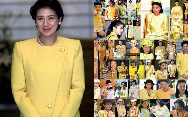 Hoàng hậu Masako luôn gây trầm trồ mỗi khi xuất hiện, một phần lý do chính là vì màu sắc trang phục của bà
