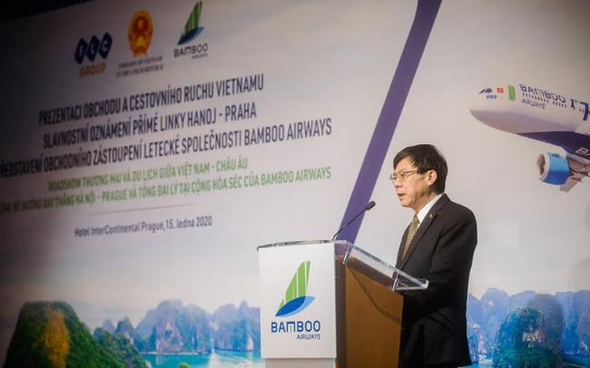 """Đại sứ Việt Nam tại CH Séc: """"Đường bay thẳng Hà Nội – Praha của Bamboo Airways sẽ thúc đẩy tất cả các lĩnh vực của Việt Nam và CH Séc"""""""