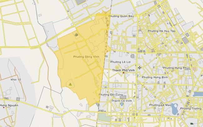 Tìm nhà đầu tư dự án khu đô thị 4.200 tỷ đồng ở TP Vinh