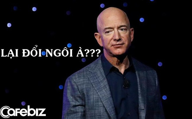 Mất 760 triệu USD trong 1 ngày, Jeff Bezos không còn là người giàu nhất hành tinh
