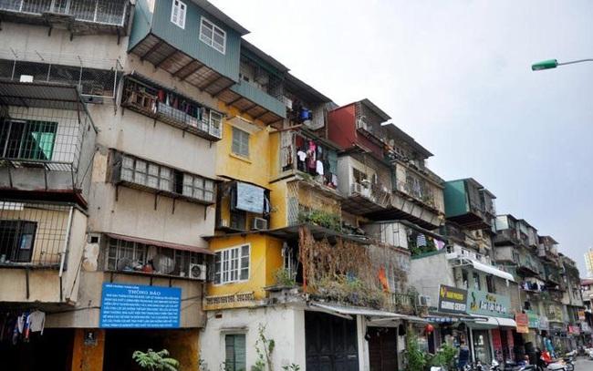 Khó khăn trong việc cải tạo chung cư cũ là vướng về dân số