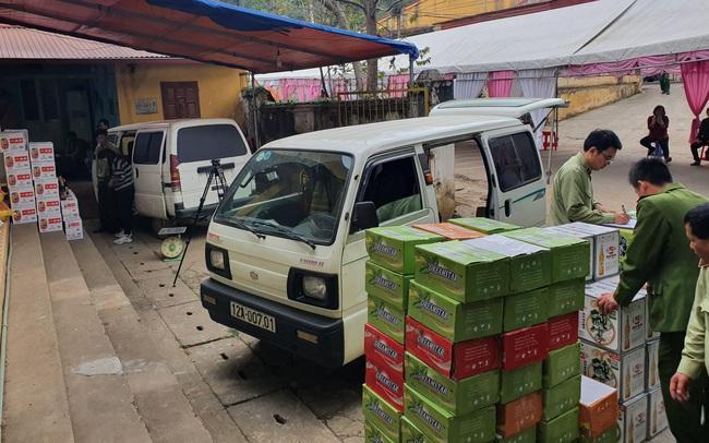 Phát hiện hơn 31. 000 sản phẩm thực phẩm nhập lậu đang trên đường tiêu thụ
