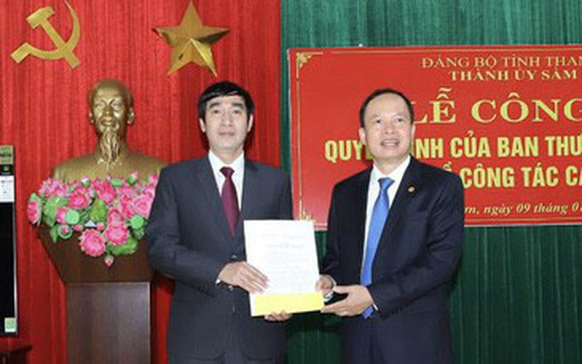 Ông Nguyễn Ngọc Tiến làm Bí thư Thành ủy Sầm Sơn