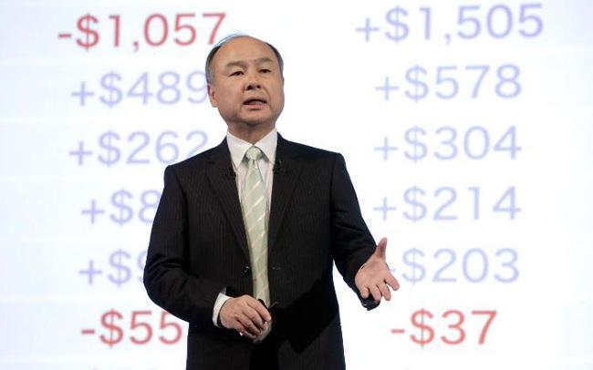 Gặp hạn vì WeWork và Uber, lợi nhuận quý IV của SoftBank lao dốc 99%