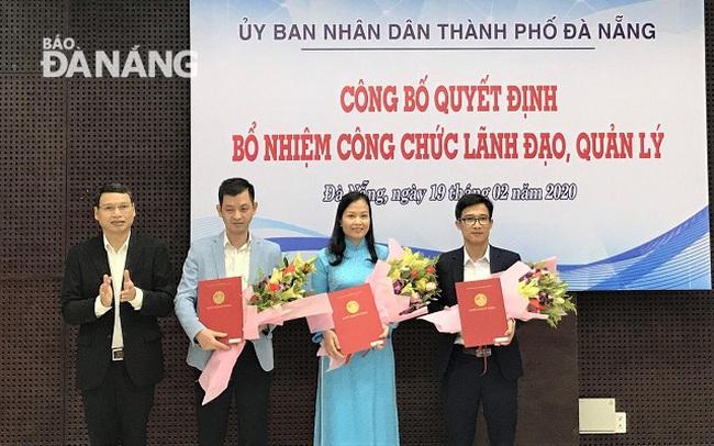 Đà Nẵng bổ nhiệm Phó Giám đốc sở và Phó Chánh văn phòng