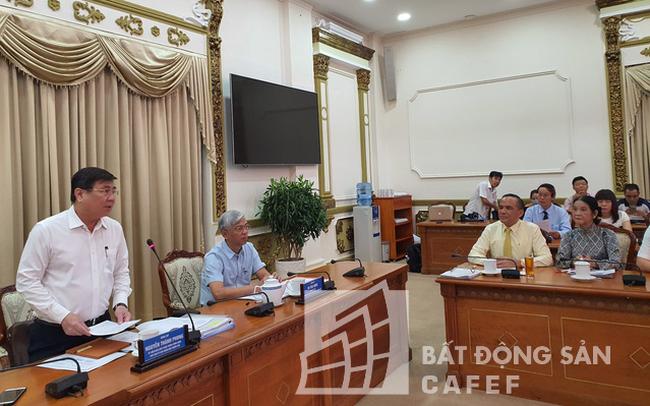 Chủ tịch Tp.HCM Nguyễn Thành Phong: Phải có giải pháp quyết liệt hơn để tháo gỡ khó khăn cho DN bất động sản