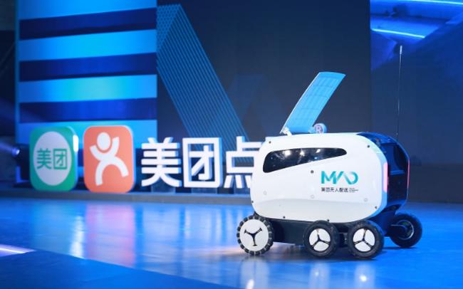 Các ông lớn thương mại điện tử Trung Quốc giao hàng bằng robot giữa mùa dịch Covid-19