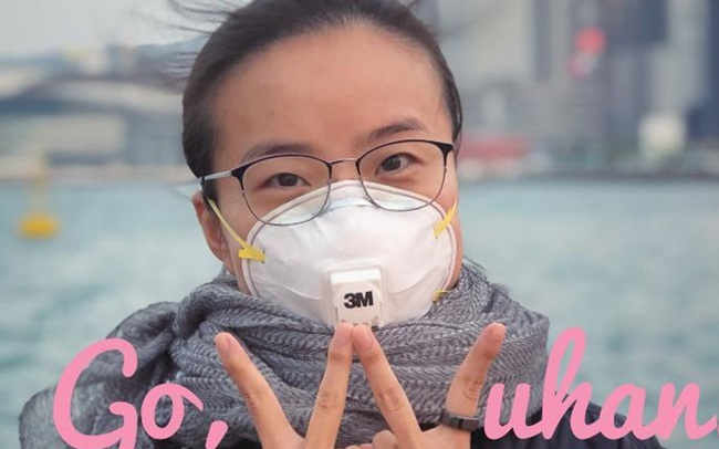 Lá thư lay động trái tim cả triệu người của cô gái Vũ Hán ở Hong Kong