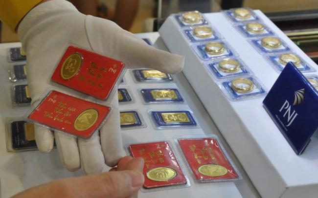 Giá vàng phục hồi trở lại, lên 44,2 triệu đồng/lượng
