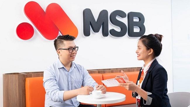 Lãi 6 tháng MSB tăng 72% nhờ chứng khoán