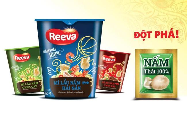 Mì Reeva - lựa chọn món ngon, bổ sung dinh dưỡng với nấm tươi cho cả nhà
