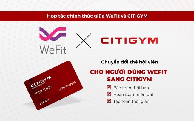 Citigym đối tác hỗ trợ chính thức của WeFit tại Tp.Hồ Chí Minh
