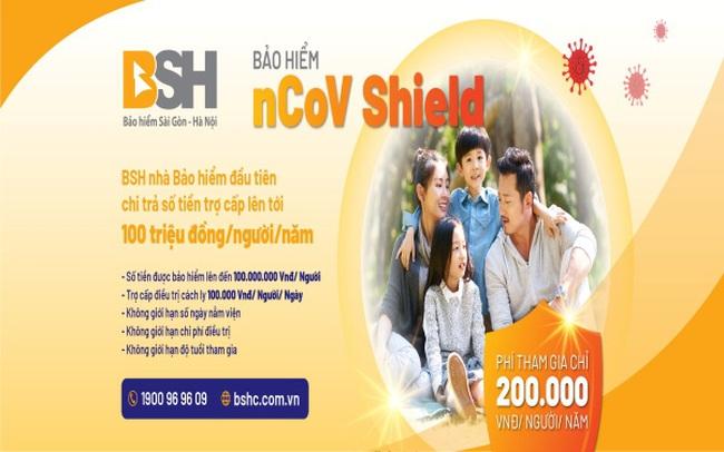 BSH ra mắt sản phẩm bảo hiểm ưu việt phòng chống dịch Virus Corona