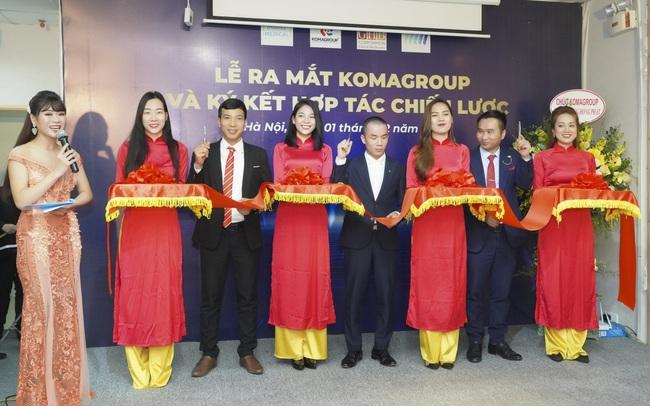 Komagroup ngay lập tức bắt tay 03 đối tác chiến lược trong ngày ra mắt thị trường Việt Nam