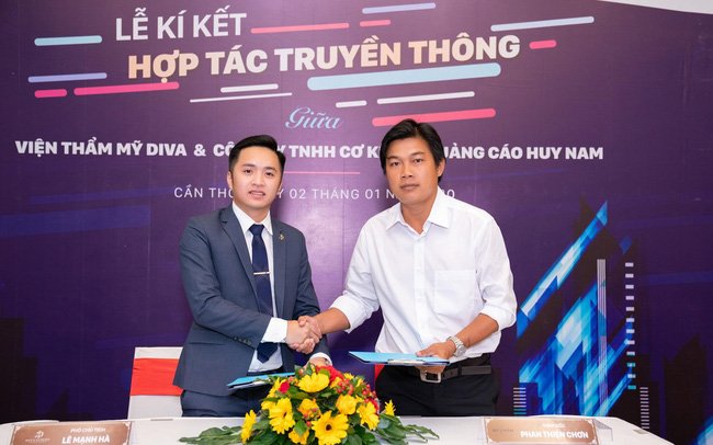 Diva Group kí kết hợp tác trị giá hơn 30 tỷ đồng với Công ty truyền thông Việt