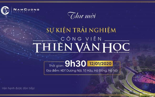 Tập đoàn Nam Cường tổ chức sự kiện Trải nghiệm Công viên Thiên Văn học