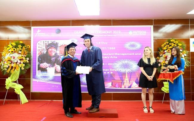 Học 1 năm, nhận bằng Cử nhân Quản trị nhà hàng của Pháp ngay tại Việt Nam