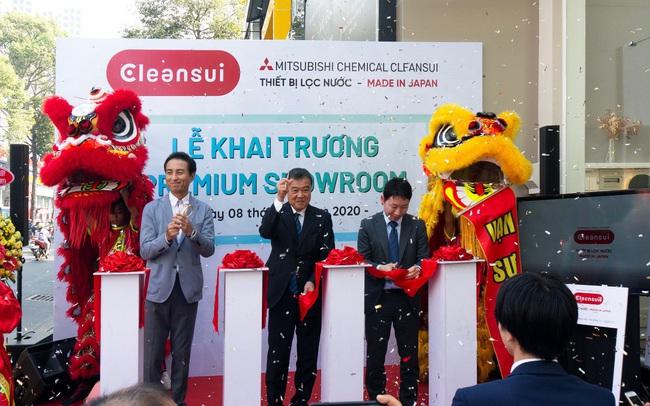 Thương hiệu lọc nước Mitsubishi Chemical Cleansui khai trương Premium Showroom tại thành phố Hồ Chí Minh