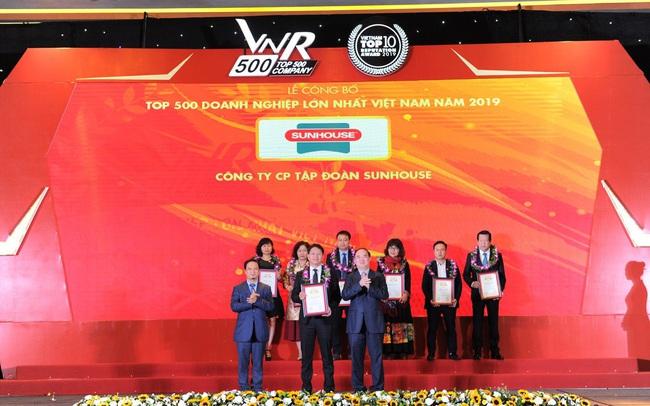 SUNHOUSE tiếp tục lọt Top 500 Doanh nghiệp lớn nhất Việt Nam 2019