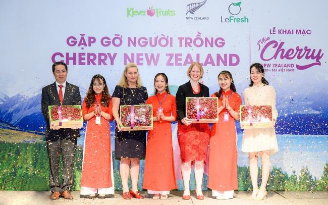 Khai mạc mùa Cherry New Zealand 2020 tại Việt Nam: chính thức ra mắt dòng cherry dành riêng cho người Việt