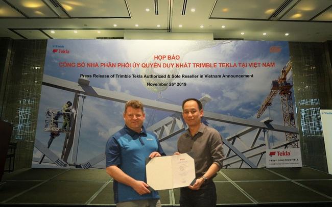Trimble Tekla công bố nhà phân phối duy nhất tại thị trường Việt Nam