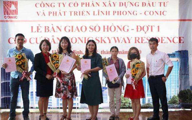 Conic: Bàn giao sổ hồng cho cư dân Conic Skyway Residence