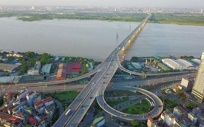 Dự án cầu Vĩnh Tuy thứ hai khiến bất động sản Long Biên được tiếp thêm nhiệt