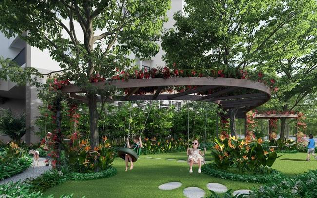 Không gian sống kết nối cộng đồng tại Le Grand Jardin