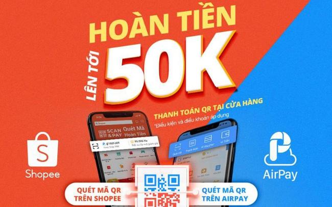 Scan&Pay, tính năng thanh toán nhanh tại điểm bán từ Shopee