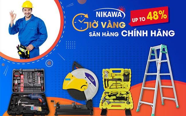 Nikawa khuyến mại sốc lên đến 48% các sản phẩm chính hãng Nhật Bản