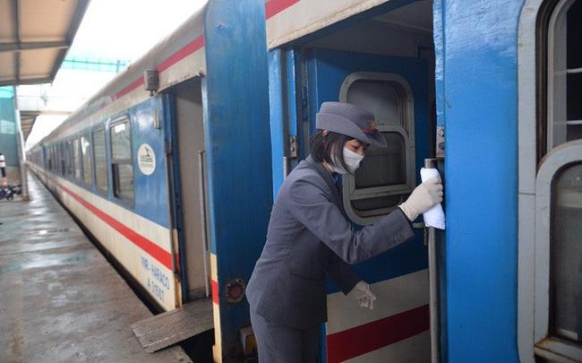 Dừng nhiều chuyến tàu khách từ Hà Nội đi các tỉnh do dịch Covid-19