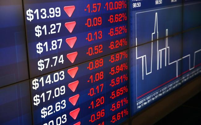 Chứng khoán Australia mất 5 %, thị trường châu Á hỗn loạn dù FED hạ lãi suất về 0