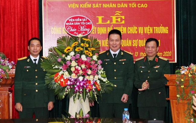 Điều động, bổ nhiệm nhân sự 3 Quân khu