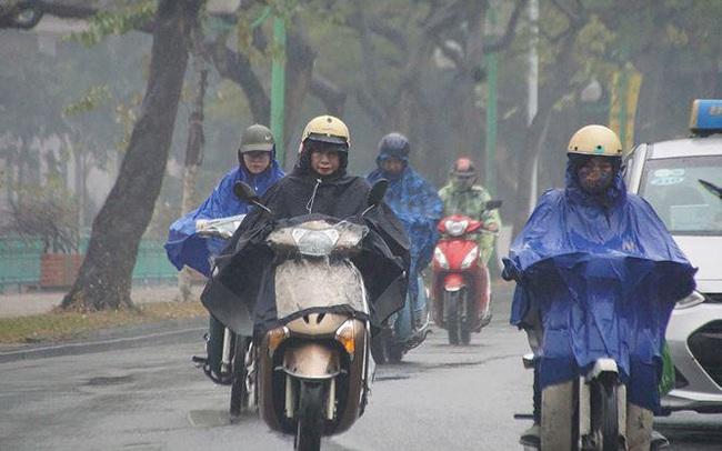 Không khí lạnh sắp tràn về khiến miền Bắc chìm trong mưa rét