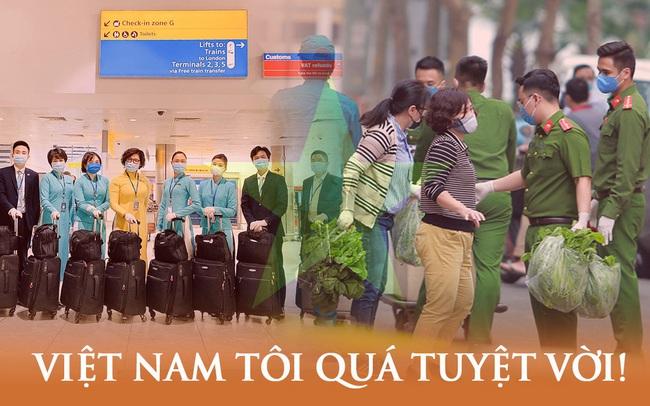 """Những con số biết nói: Hàng triệu người dân tự hào """"Việt Nam quá tuyệt vời"""", đồng lòng chống dịch Covid-19 từ những điều nhỏ bé nhất"""