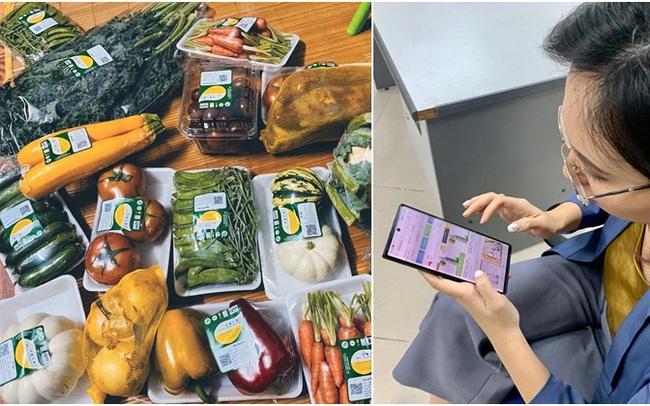 Xe ôm công nghệ tích hợp thêm dịch vụ đi chợ hộ cực tiện ích, chị em chỉ ngồi một chỗ vẫn mua được thực phẩm tươi ngon
