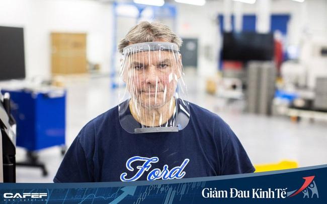 Ford hợp tác với 3M và GE sản xuất khẩu trang và máy thở chống đại dịch Covid-19