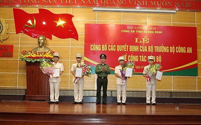 Triển khai quyết định của Bộ trưởng Công an tại Quảng Bình
