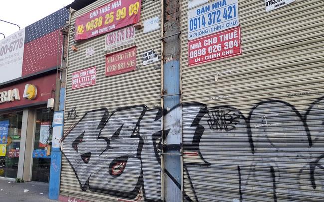Cho thuê mặt bằng nhà phố trung tâm Tp.HCM ảm đạm, đóng cửa hàng loạt vì dịch Covid-19