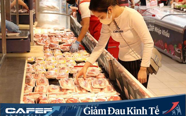 """Giá thịt lợn """"nhảy múa"""", hệ thống siêu thị BigC, Co.opmart, Co.opXtra… đồng loạt công bố chương trình bình ổn giá, tăng cường khuyến mãi lên đến 25%"""