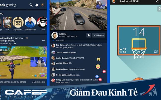 Facebook ra mắt ứng dụng chơi game trực tiếp trên di động giữa dich corona