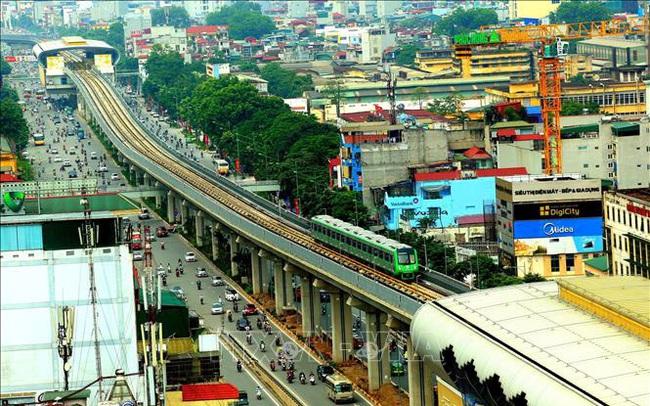 Hà Nội thông qua chủ trương xây tuyến đường sắt trên cao dọc đại lộ Thăng Long