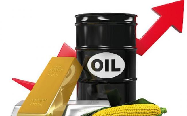 Thị trường ngày 24/4: Giá dầu tiếp tục leo dốc gần 20%, các hàng hóa khác cũng đồng loạt tăng cao